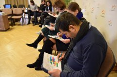 Together with teachers from Tîrgu Mureş we ideated how to counter online hate speech
